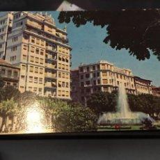 Postales: VIGO PLAZA DE COMPOSTELA FUENTE LUMINOSA. Lote 145615869