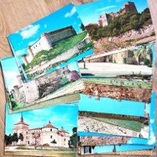 Postales: LOTE 62 POSTALES DIFERENTES TEMÁTICA CASTILLOS DE ESPAÑA EN MUY BUEN ESTADO. Lote 145899782