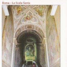 Postales: POSTAL B9342: ROMA: SCALA SANTA. Lote 146748840