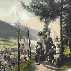 Postales: P- 8985. POSTAL ILUSTRADA, DAVOS. 1907.. Lote 146873582