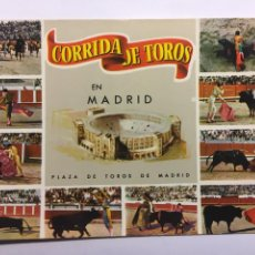 Postales: POSTAL CORRIDA DE TOROS EN MADRID 1963. Lote 146914922