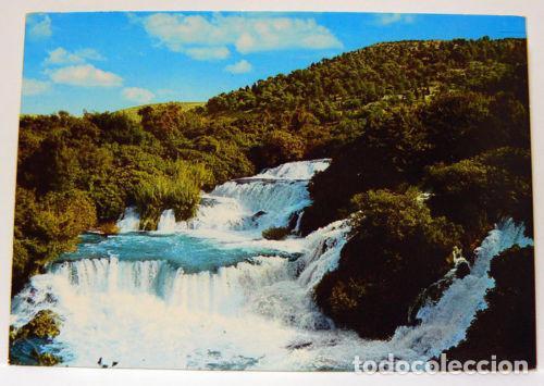 SLAPOVI KRKE CASCADE WATERFALL LANDSCAPE (Postales - Varios)
