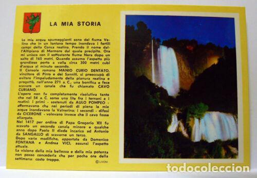 TERNI - CASCADE DES MARMORE-MEMORE WATERFALL (Postales - Varios)
