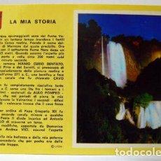 Postales: TERNI - CASCADE DES MARMORE-MEMORE WATERFALL. Lote 147318998