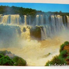Postales: BRASIL FOZ DO IGUACU WATERFALL CATARATAS DE FOZ DO IGUACU. Lote 147319210