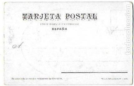 Postales: P- 9073. POSTAL D. JOSE M. VALLES Y RIBOT. PPIO. S. XX.PRESIDENT CONSELL REGIONAL FEDERALISTA. - Foto 2 - 148027510