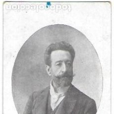 Postales: P- 9073. POSTAL D. JOSE M. VALLES Y RIBOT. PPIO. S. XX.PRESIDENT CONSELL REGIONAL FEDERALISTA.. Lote 148027510