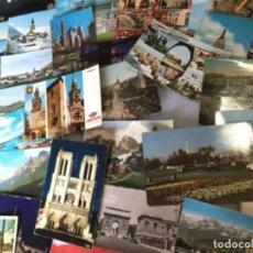 Postales: LOTE DE 95 POSTALES TEMÁTICA DE TODO EL MUNDO DE LOS AÑOS 60 . Lote 148168806