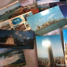 Postales: 16 POSTALES GRANDES DE TODO UN POCO AÑOS 60 . Lote 148193582