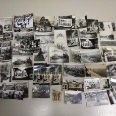 Postales: 119- GRAN LOTE DE ANTIGUAS POSTALES Y FOTOGRAFIAS . Lote 148218758