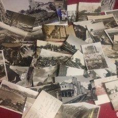 Postales: LOTE DE 43 POSTALES BLANCO Y NEGRO Y UNA FOTOGRAFIA GRANDE. Lote 148229828