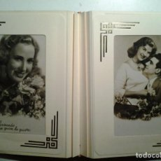 Postales: TARJETAS POSTALES ROMANTICAS. Lote 148478330
