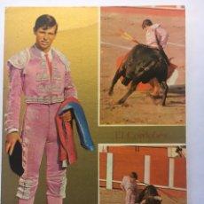 Postales: POSTAL 1964 TORERO EL CORDOBÉS. Lote 148913302