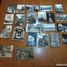 Postales: POSTALES Y FOTOS BLANCO Y NEGRO. LOTE POSTALES. Lote 150834242