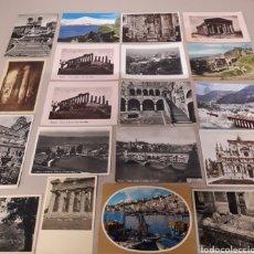 Postales: COLECCION DE 20 POSTALES VARIADAS DE ITALIA.. Lote 151321225