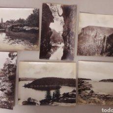 Postales: LOTE DE 5 ANTIGUAS POSTALES DE GROTTES DE HAN.. Lote 151326468