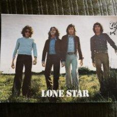 Postales: GRUPO DE ROCK ESPAÑOL LONE STAR. TARJETA DISCOGRÁFICA. AÑOS 70.. Lote 151604466