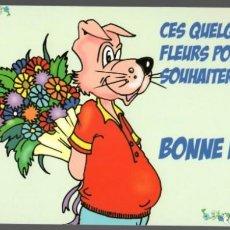 Postales: CES QUELQUES FLEURS POUR TE SOUHAITER UNE BONNE FÊTE!!!. Lote 151711858