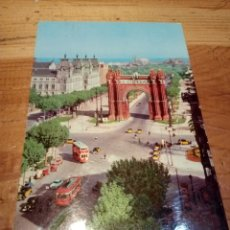 Postales: POSTAL ARCO DE TRIUMFO BARCELONA AÑO 1972. Lote 152492042