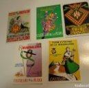 Postales: LOTE 5 POSTALES FIESTAS MAGDALENA CASTELLON SIN CIRCULAR NUEVAS. Lote 152663090