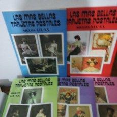 Postales: LAS MÁS BELLAS TARJETAS POSTALES SIGLOS XIX-XX 1,2,3,4,&5. Lote 153897934