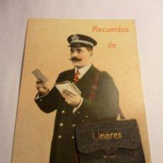 Postales: CARTERO RECUERDO LINARES. Lote 154634338