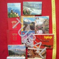 Postales: TUBAL 13 ALBUMS POSTALES LOTAZO EN ACORDEON AÑOS 60 COMPLETISIMOS. Lote 155272602