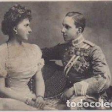 Postales: POSTAL DE S.S.M.M. D. ALFONSO XLLL Y Dª. VICTORIA EUGENIA. REYES DE ESPAÑA P-MONAR-051. Lote 156099406