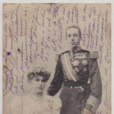 Postales: POSTAL DE S.S.M.M. D. ALFONSO XLLL Y Dª. VICTORIA EUGENIA. REYES DE ESPAÑA P-MONAR-052. Lote 156099850