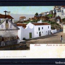Postales: POSTAL EDITADA POR PURGER & Cº,MÜNCHEN-TITULO RONDA , FUENTE OCHO CAÑOS-LEER DESCRIPCIÓN-VER FOTO .. Lote 156472406