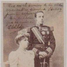 Postales: POSTAL DE S.S. M.M. REYES DE ESPAÑA P-MONAR-066. Lote 156475294