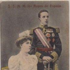 Postales: POSTAL DE S.S. M.M. LOS REYES DE ESPAÑA P-MONAR-068. Lote 156475470