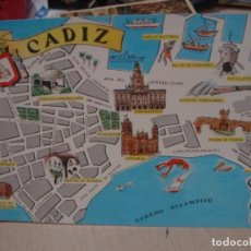 Postales: POSTAL DE CADIZ FRESMO AÑOS 60. Lote 156518094