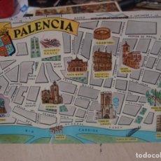 Postales: POSTAL DE PALENCIA FRESMO AÑOS 60. Lote 156518214