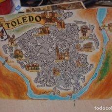Postales: POSTAL DE TOLEDO FRESMO AÑOS 60. Lote 156518386