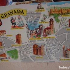 Postales: POSTAL DE GRANADA FRESMO AÑOS 60. Lote 156518470