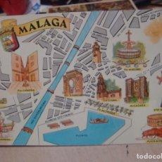 Postales: POSTAL DE MALAGA FRESMO AÑOS 60. Lote 156518822