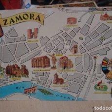 Postales: POSTAL DE ZAMORA FRESMO AÑOS 60. Lote 156518906