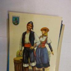 Cartoline: BJS.LINDA POSTAL TRAJES TIPICOS DE LAS ISLAS CANARIAS.CIRCULADA.COMPLETA TU COLECCION.. Lote 156955402