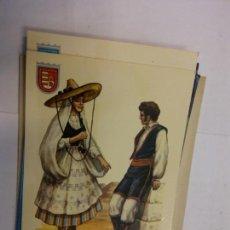 Cartoline: BJS.LINDA POSTAL TRAJES TIPICOS DE LAS ISLAS CANARIAS.CIRCULADA.COMPLETA TU COLECCION.. Lote 156955458