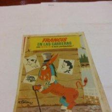 Postales: BJS.LINDA POSTAL CINE.FRANCIS EN LAS CARRERAS.COMPLETA TU COLECCION.. Lote 159610234