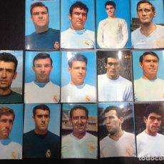 Postales: LOTE ANTIGUAS POSTALES DEL REAL MADRID. Lote 159727245