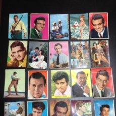 Postales: ANTIGUO LOTE POSTALES DE ACTORES DE TV. Lote 159727724