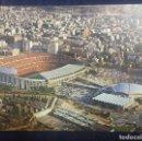 Postales: POSTAL DOBLE DEL ESTADIO DEL FUTBOL CLUB BARCELONA AÑO 1982 FOTOGRAFIA CAMPAÑA. ED.KOLORHAM. Lote 160779594