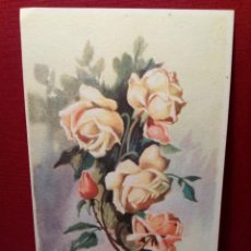 Postales: ANTIGUA POSTAL FLORES (AÑOS 30) CIRCULADA - REF: 135/149. Lote 162325598