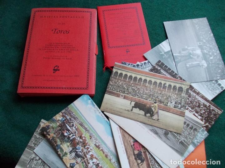 25 VIEJAS POSTALES DE TOROS REPRODUCCION AYUNTAMIENTO DE SEVILLA 1992 (Postales - Varios)
