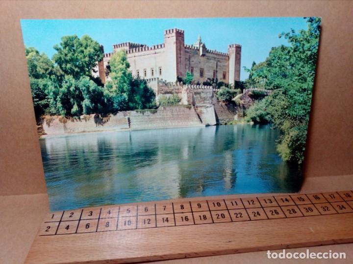 LOTE 5 POSTALES (SIN CIRCULAR) CASTILLOS Y MONASTERIOS DE ESPAÑA (AÑOS 70) - REF: 210/220 (Postales - Varios)
