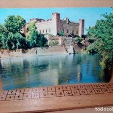 Postales: LOTE 5 POSTALES (SIN CIRCULAR) CASTILLOS Y MONASTERIOS DE ESPAÑA (AÑOS 70) - REF: 210/220. Lote 162933618