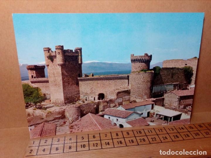 Postales: LOTE 5 POSTALES (SIN CIRCULAR) CASTILLOS Y MONASTERIOS DE ESPAÑA (AÑOS 70) - REF: 210/220 - Foto 4 - 162933618