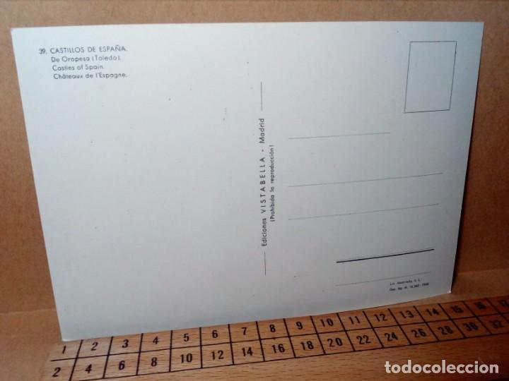 Postales: LOTE 5 POSTALES (SIN CIRCULAR) CASTILLOS Y MONASTERIOS DE ESPAÑA (AÑOS 70) - REF: 210/220 - Foto 5 - 162933618